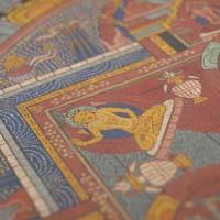 チベット・マンダラがあるだけで、ヒーリングの時間が深まります。