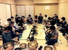 大阪でアマナマナのシンギングボウル講座2016年春、開催決定!