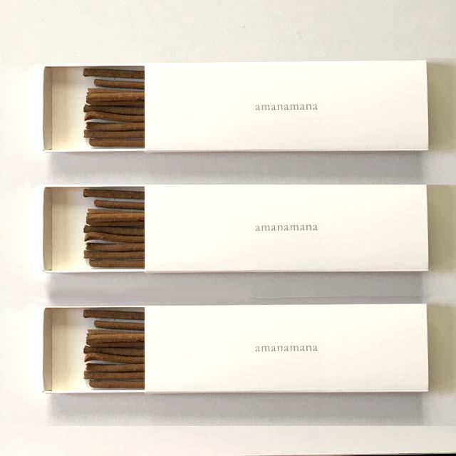 三種のお香 ラサ・プレミアム香 10本入り3箱