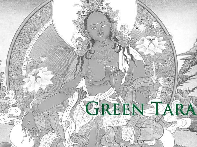 緑ターラ菩薩のお守り