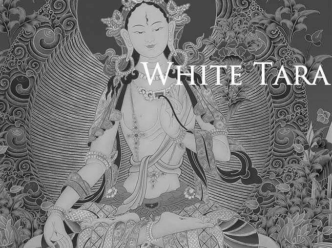 白ターラ菩薩のお守り