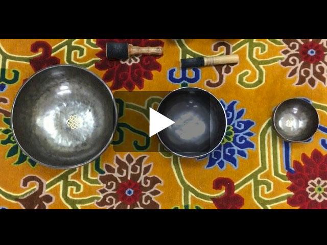 チベット・シンギングボウル『稲妻と豊穣』