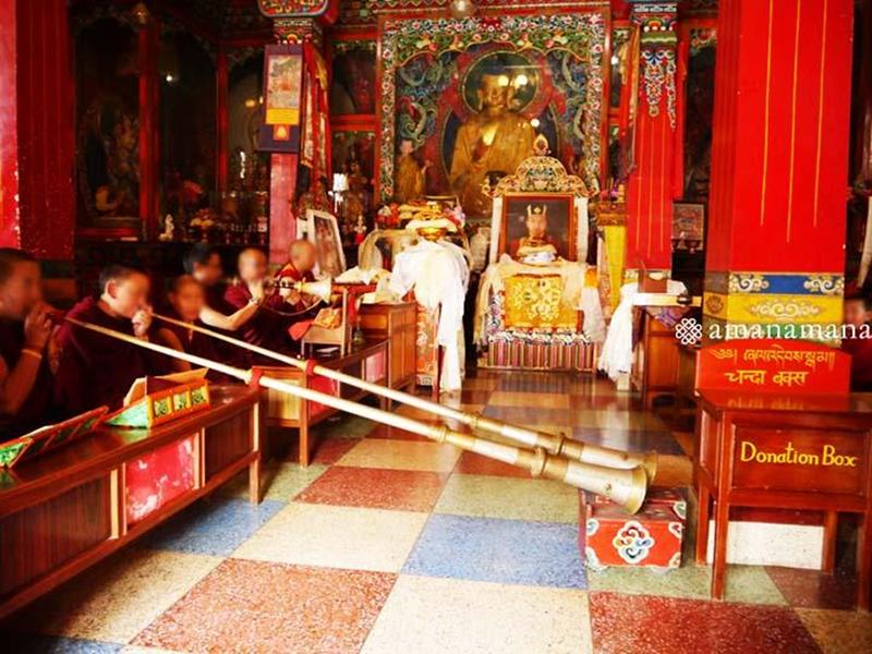 サカダワ2017チャリティのチベット尼僧院
