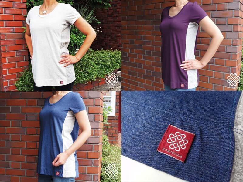 アマナマナのオリジナルTシャツ The Blessing T-shirt