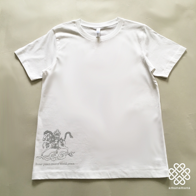 The Blessing T-shirt ルンタ柄