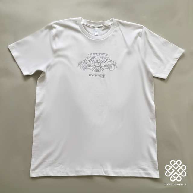The Blessing T-shirt ロータス柄