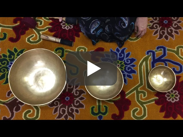 チベット・シンギングボウル『草原を走る生命の歌』