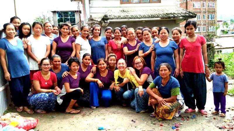 女性自立支援施設 フェルト・ファクトリー(代表Bikram Chauhan)