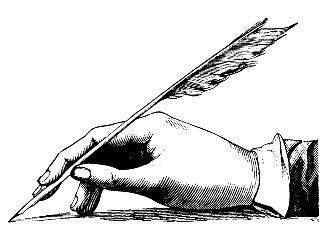Feather Pen #1383998-pi5858nAT
