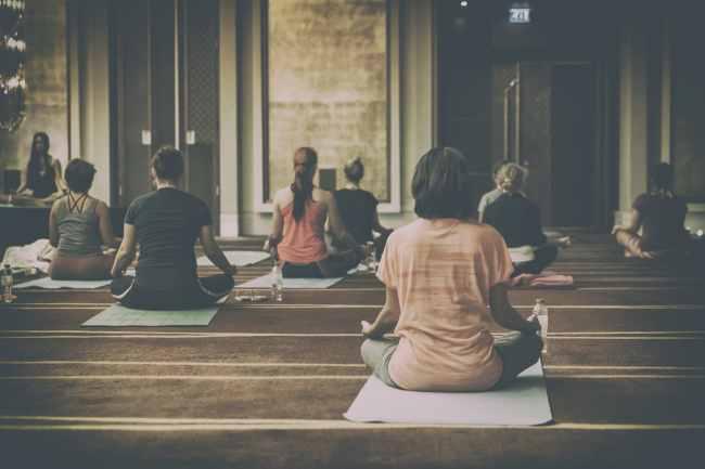 ヨガ、瞑想、浄化