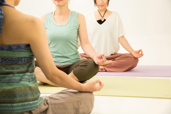 ヨガ、瞑想、ティンシャ、回数