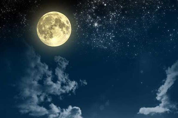満月に浄化